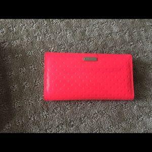 Kate Spade Wallet- Neon Pink- NWOT